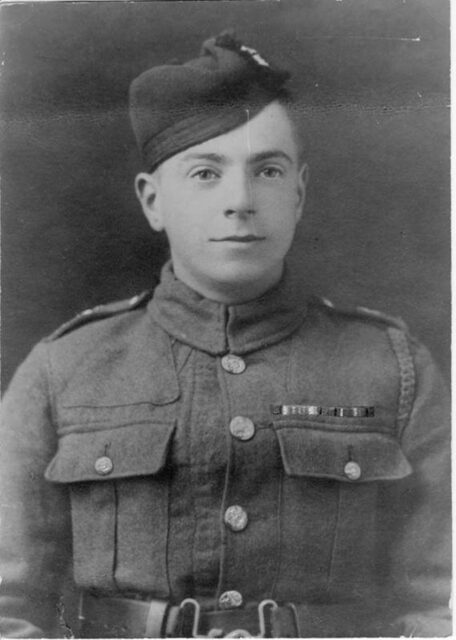 Colleen's grandfather and war veteran: George Murray Melville